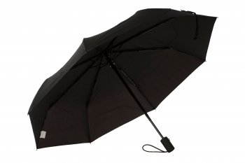 HS053 BLK LETTER WET LOOK UMBRELLA