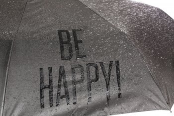 HS079 BE HAPPY WET LOOK 1